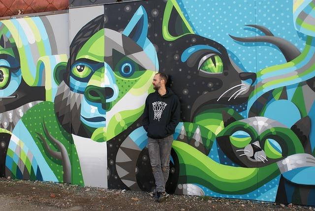 antygraffiti na muralu to także ukłon w stronę artysty